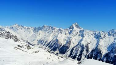Bietschhorn in de winter
